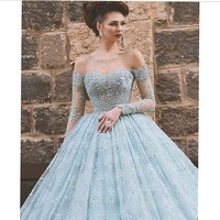 2016 Unique Designed Lace Prom Dress Elegant Long Summer Ball Gown Prom Dress Vestido De Noche Longo