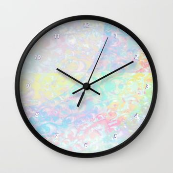 The Grey Area Wall Clock by Ben Geiger