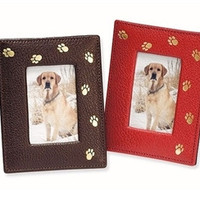 Paw Print Picture Frame