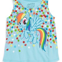 Mighty Fine 'My Little Pony - Rainbow Dash' High/Low Tank (Toddler Girls)
