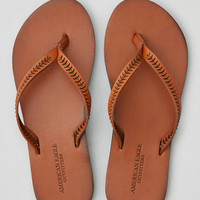 AEO Half Moon Sliced Flip Flop , Tan