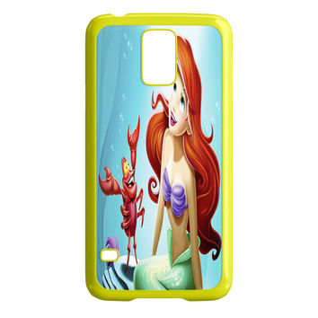 The Little Mermaid Green Ariel in the Moonlight Samsung Galaxy S5 Case