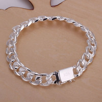 2015 new style fashion men and women silver jewelry 925 sterling silver Bracelets = 5987830145