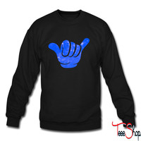 Hang Loose Galaxy crewneck sweatshirt