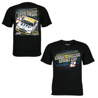 Brad Keselowski Chase Authentics 2014 Chase for the Sprint Cup Miller Light T-Shirt - Black