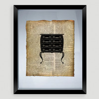 Dresser Print Wall Art - World Market