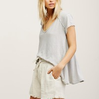 Free People Safari Linen Short