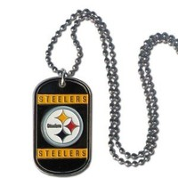 NFL Pittsburgh Steelers Dog Tag Necklace