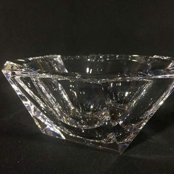 Orrefors Crystal Serving Bowl