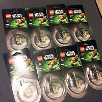 New Lego Star Wars Yoda Minifigure Magnet - Factory Sealed!, Lot of 8