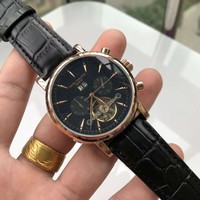 Patek Philippe Men Fashion Mechanics Watches Wrist Watch