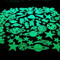 DirectGlow LLC Educational Products - 300 Piece Glow in the Dark Stars - Over 300 pieces of glow in the dark fun!