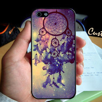 Dream Catcher Vintage- Photo Hard Case design for iPhone 4/4s Case, iPhone 5 Case, Black or White ( Choose Option )