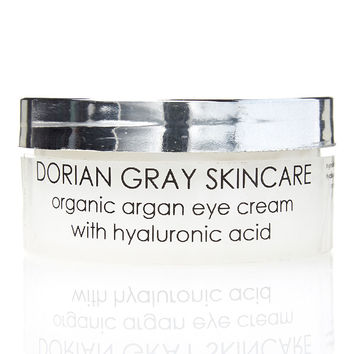 Organic Argan Eye Cream with Hyaluronic Acid