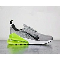 NIKE AIR MAX 270 World Cup Half Palms Running Shoes F-A50-XYZ grey+green