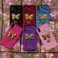 GUCCI Fashion Trending Cortex iPhone Phone Cover Case For iPhone X I Phone 8 I Phone 8Plus G
