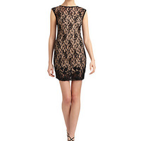 Aidan by Aidan Mattox - Beaded Lace Cocktail Dress - Saks.com