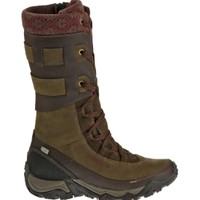 Merrell Women's Polarand Rove Peak Waterproof 100g Winter Boots