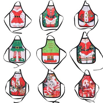 New Mini Christmas Bottle Apron Set Christmas Bottle Ornament Christmas Commodity Small Gift