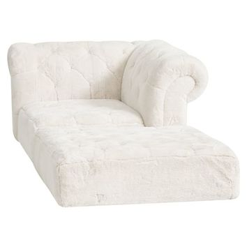Cushy Roll Arm Chaise Set