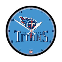 Tennessee Titans NFL Round Wall Clock