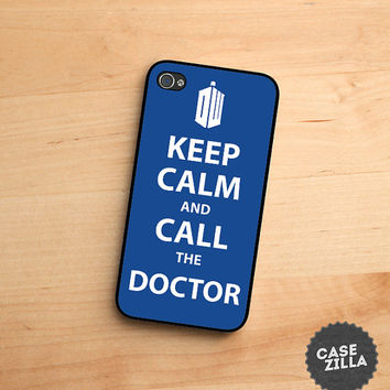 iPhone 5 Case Keep Calm and Call The Doctor iPhone 5S Case, iPhone 4/4S Case, iPhone 5C Case