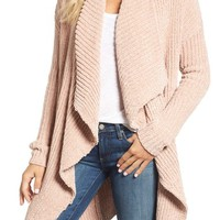 Caslon® Long Sleeve Chenille Cardigan | Nordstrom