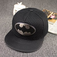 Fashion Summer Brand Batman Baseball Cap Hat For Men Women