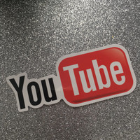 You-tube decal sticker