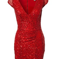 Julie Sequin Dress, Oneness