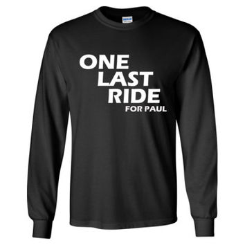 Fast and Furious 7 Tshirt - Long Sleeve T-Shirt