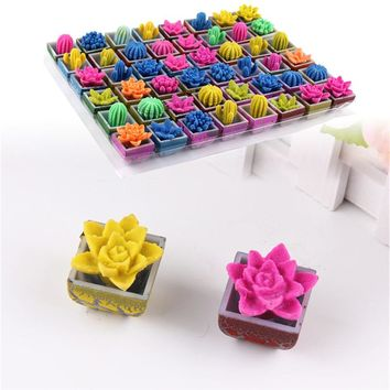 1 PCS Water Beads Growing Cactus Magic Crystal Soil Potted Gags & Practical Jokes Toys