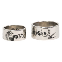The Nightmare Before Christmas True Love Never Dies Ring Set