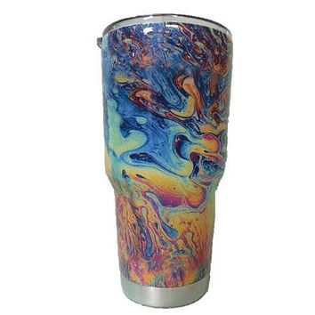 Oil Slick Tumbler Warehouse Tumbler