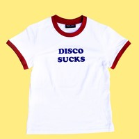 Lazy Oaf Disco Sucks T-shirt