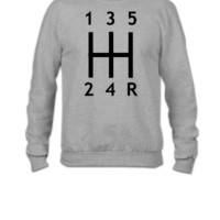 Car - Gearshift - Crewneck Sweatshirt