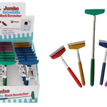 Jumbo Extendable Back Scratcher Case Pack 24