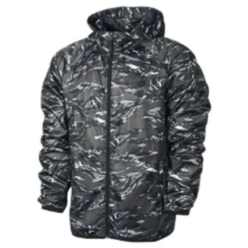 Nike Packable Camo Lightweight Windrunner Men's Jacket - Night Stadium