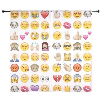 emoji Curtains
