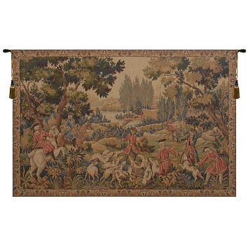 Chasse D'Oudry French Tapestry
