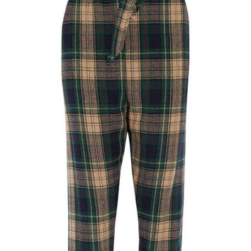 Vivienne Westwood Anglomania - New Kung Fu tartan wool-blend tapered pants