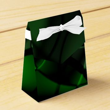 Forest Green Favor Box