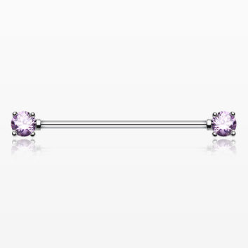 Dainty Sparkles Industrial Barbell