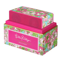 Lilly Pulitzer Wireless Bluetooth Speaker- Big Flirt