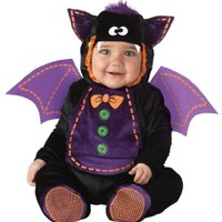 InCharacter Costumes Baby Bat Costume, Black/Purple, Small