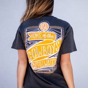 Home Of The Cowboys Comfort Color tee