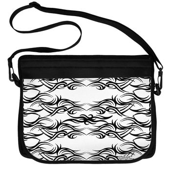 Tribal Pattern AOP Neoprene Laptop Shoulder Bag All Over Print by TooLoud