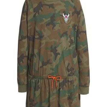 Girl's Ralph Lauren Camo?Print?Dress,