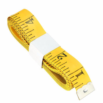 Best Price 120'' Inch 3 Meter Mini Tailor Seamstress Cloth Ruler Tape Measure Flexible Sewing Cloth Tool Accessaries Best Price