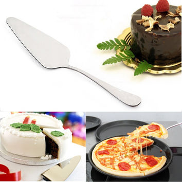 Serrated Cake Spatulas Pizza Pie Pastry Shovel Cutter Baking Tool